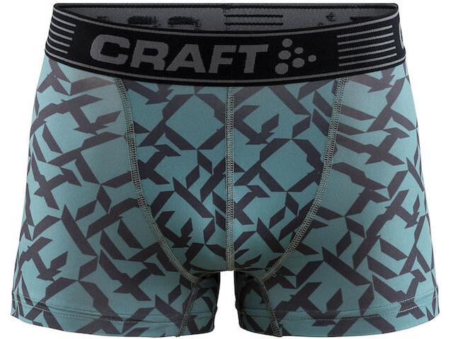 Craft Greatness Underkläder Herr grå/turkos